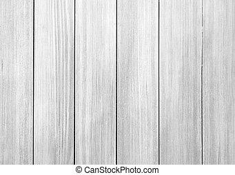 trä, vit, planka, ridit ut