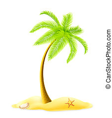 träd, 10eps, palm