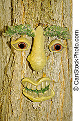 träd, ansikte