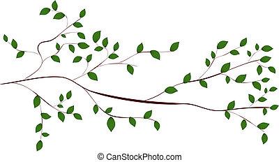 träd filial