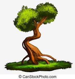 träd., illustration