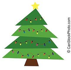 träd, jul