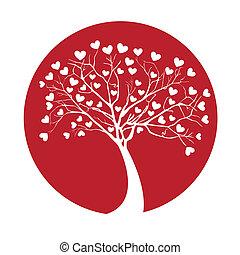 träd, kärlek