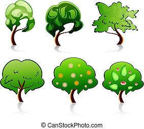träd, symboler