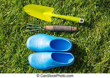 trädgård verktyg