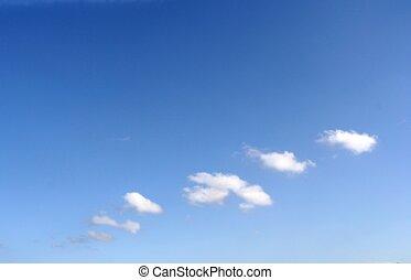 träumerisch, wolkenhimmel
