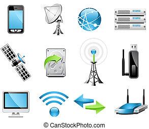 trådlös teknik, ikonen
