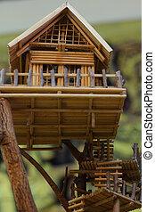 træ hus