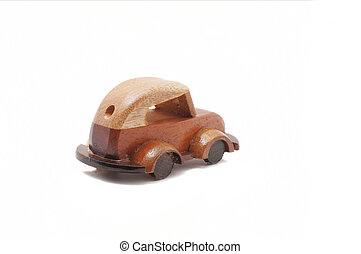 træ legetøj, automobilen