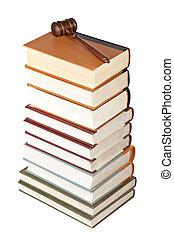 træagtig gavel, og, lov bog