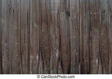 træagtig mur, gamle, tilsmuds, baggrund