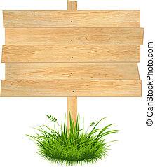 træagtig planke