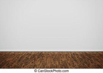 træagtigt gulv