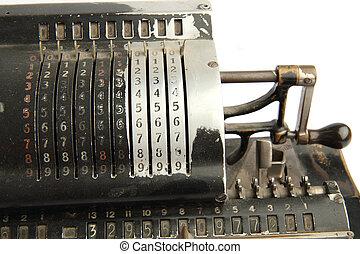 très, calculatrice, vieux