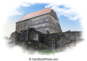 très, carta, vieille église