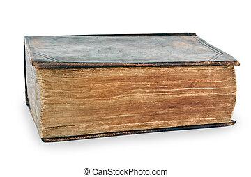 très, vieux, bible sainte