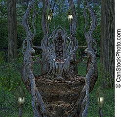 trône, fantasme