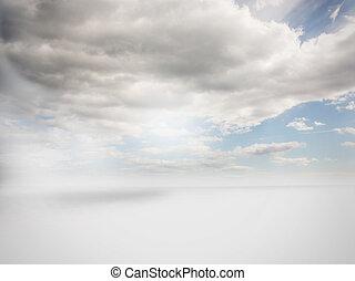 trüber himmel, hintergrund