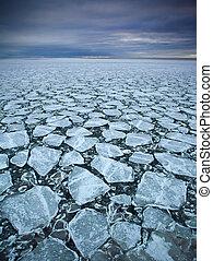 tração, gelo