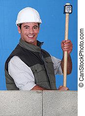 trabajador construcción