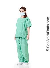 trabajador de atención sanitaria