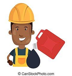 trabajador industrial, avatar