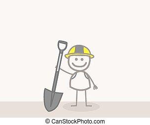 trabajador industrial