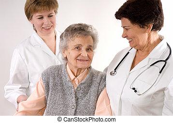 trabajadores, asistencia médica