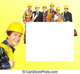 trabajadores, industrial
