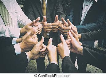 trabajo en equipo, togetherness, colaboración, concepto