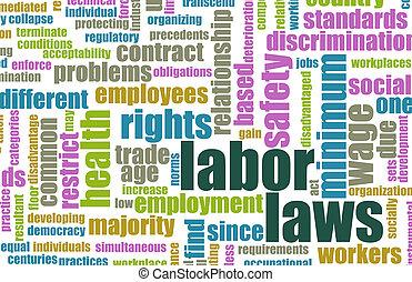 trabajo, leyes