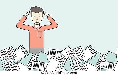 trabajo, overload.
