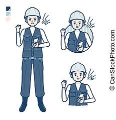 trabajo, simple, man_smartphone-anger, medio, uso