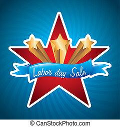 trabajo, venta, día