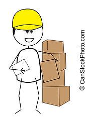 trabalhador construção