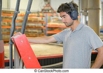 trabalhador industrial