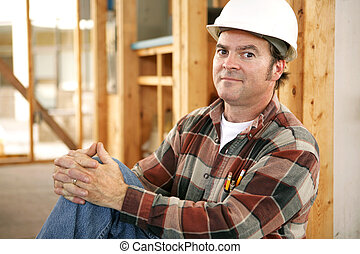 trabalhadores construção, orgulho