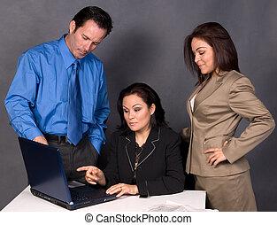 trabalhadores, escritório