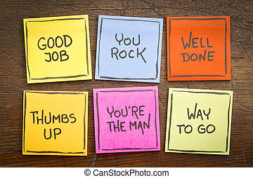 trabalho bom, feito, maneira, ir
