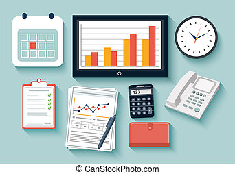 trabalho, elementos negócio