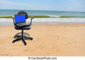 trabalho, férias