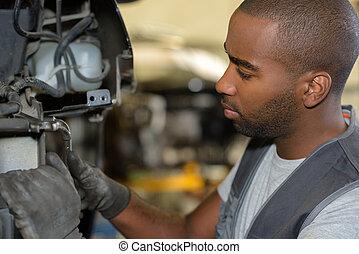 trabalho, mecânico