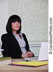 trabalho, negócio mulher