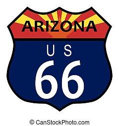 tracciato, arizona, 66
