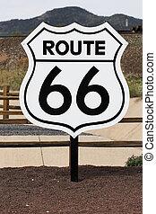 tracciato, nostalgico, 66, segno