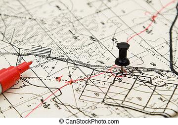 tracciato, pianificazione