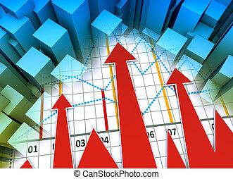 trace établissez graphique