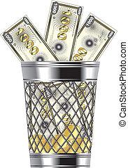 tracić, pieniądze