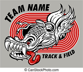 track and field design