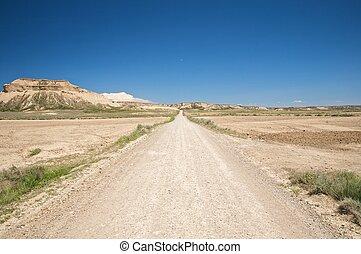 track at bardenas reales